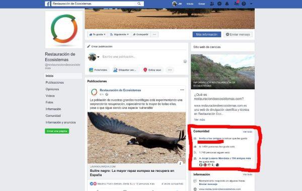 Como invitar a tus contactos a seguir una página de Facebook